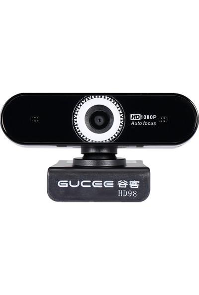 Gucee HD98 1080 P Webcam Otomatik Odak Bilgisayar Kamera (Yurt Dışından)