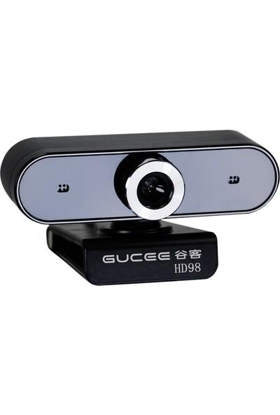 Gucee HD98 Webcam 12MP Manuel Odak Web Kamera Dahili (Yurt Dışından)