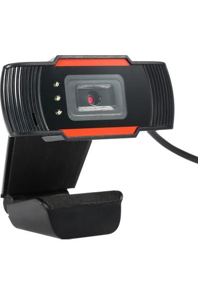 Hxsj A870C3 Yüksek Çözünürlüklü USB Webcam 480 P Sabit (Yurt Dışından)