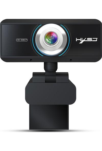 Hxsj S4 HD 1080 P Webcam Manuel Odak Bilgisayar Kamera (Yurt Dışından)