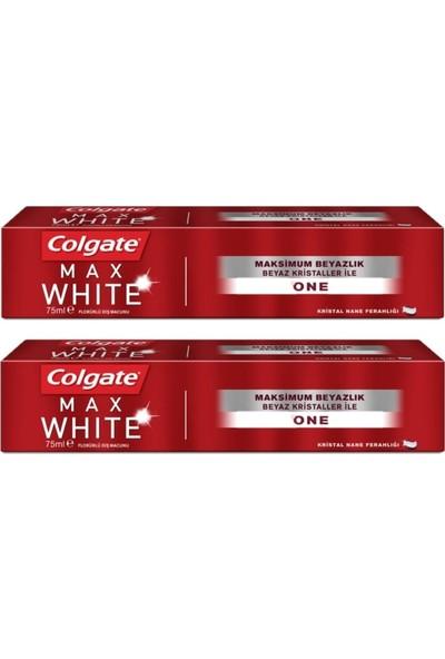 Colgate Max White Kalıcı Beyazlık Diş Macunu 75 ml 2 Adet