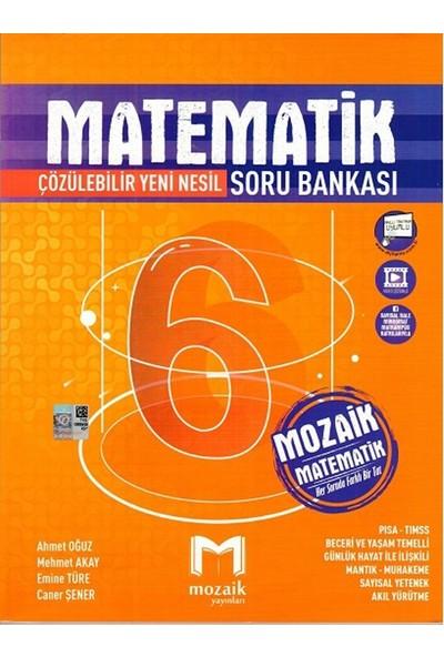 Mozaik Yayınları 6. Sınıf Matematik Soru Bankası