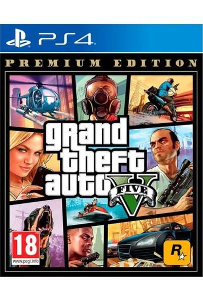 GTA 5 Premium Edition PS4 Oyunu