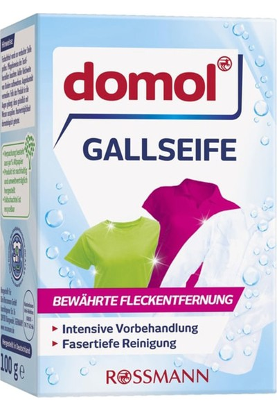 Domol Gall Sabunu Leke Cıkarıcı Katı 100 gr
