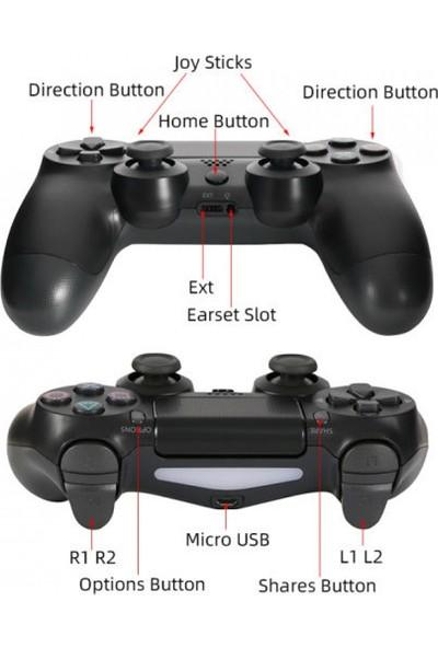 PolyGold PS4 Oyun Kolu Joystick Kablosuz Wireless