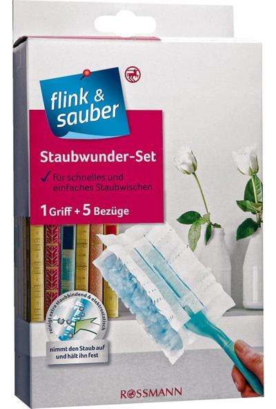 Flink & Sauber Toz Alma Aparatı 1 Adet Sap + 5 Yedek Kılıf
