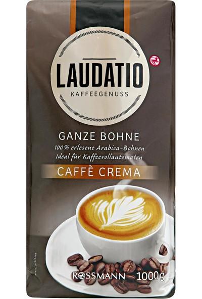 Laudatıo Butun Kahve Cekırdegı Cafe Crema 1 kg
