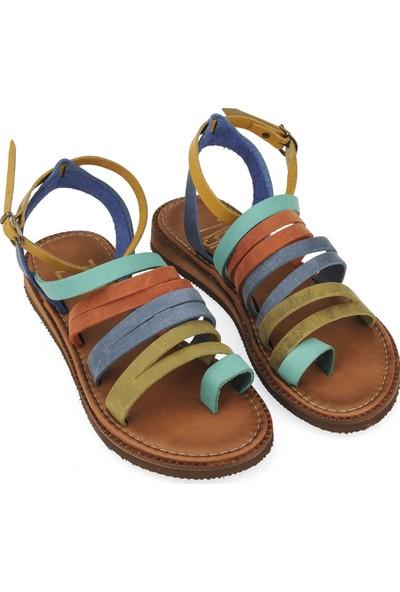 Ziya Kadın Sandalet 10183 090 Renkli