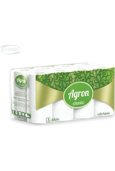 Agron Classic Rulo Havlu 10,8 mt - 24'lü