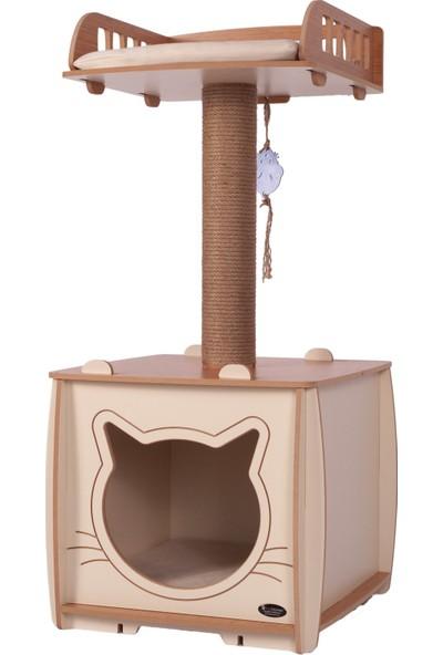 Pati Homes Yataklı Kedi Evi XL