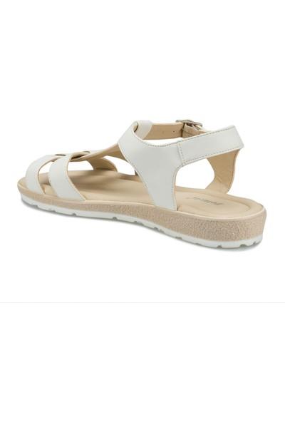 Polaris 315576.Z Beyaz Kadın Sandalet