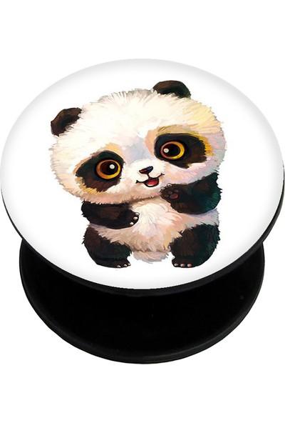 Bsb Panda Popsoket Telefon Parmak Tutucu Popsocket PS1200
