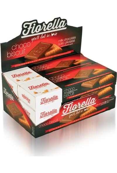 Elvan Fiorella Bitter Çikolatalı Bisküvi 102 Gr. 6'lı (1 Kutu)