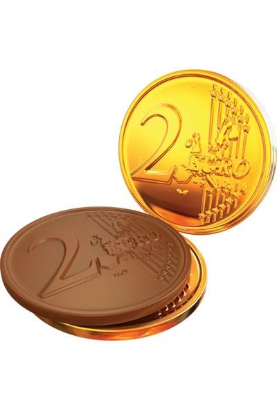 Elvan Fiorella Para Çikolata Sütlü 4 gr 100 Adet (1 Silindir Kutu)