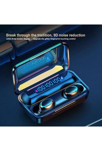 Buyfun F9 Bt Kulaklık Kablosuz Stereo Spor Kulaklık (Yurt Dışından)