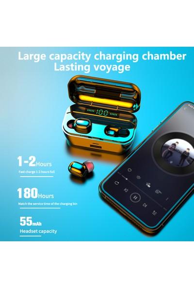 Buyfun G6S Kulaklık Bt 5.0 Kulaklık LED Digtal Ekran Ture Kablosuz (Yurt Dışından)