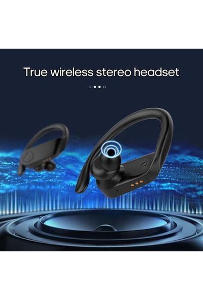Buyfun B11 Kulaklık LED Ekran Bt Kablosuz Kulaklık 5.0 V Stereo (Yurt Dışından)