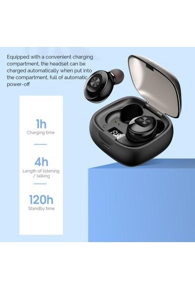 Buyfun Tws Bluetooth 5.0 Kablosuz Kulaklık Mini Akıllı (Yurt Dışından)