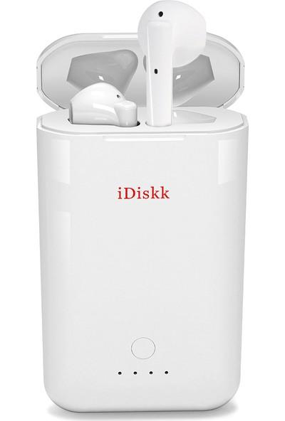 iDskk Powerpods Tws Kablosuz Kulaklık Bluetooth 5.0 (Yurt Dışından)