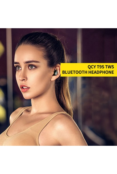 Qcy T9S Tws Kulaklık Bluetooth 5.0 Kablosuz Kulaklık (Yurt Dışından)