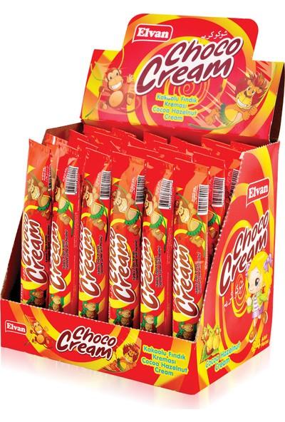 Elvan Choco Cream 25 Gr. 24 Tüp (1 Kutu)