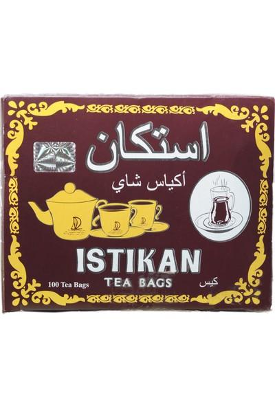 Kahvelibey Istıkan Sallama Çay 100 Adet