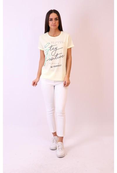 Aclassics Yazı Detaylı Modal Spor T-Shirt