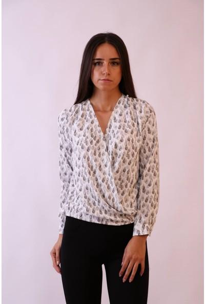 Aclassics Kruvaze Gri Damla Model Bluz