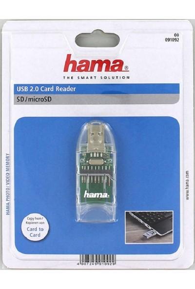 Hama 8 in 1 USB 2.0 Kart Okuyucu SD / Micro SD
