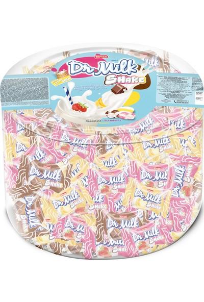 Elvan Dr.Milk Shake Mix Şeker 1000 gr (1 Silindir Kutu)