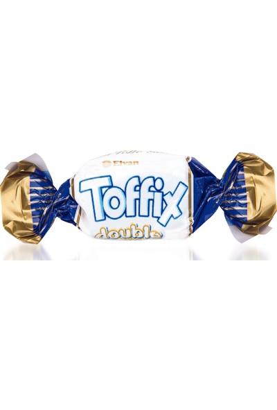 Elvan Toffix Double Milk Sütlü Şeker 1000 gr (1 Poşet)