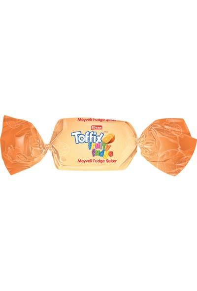 Elvan Toffix Fudge Meyveli Şeker 1000 gr (1 Poşet)