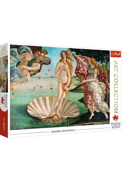 Trefl Puzzle The Birth Of Venus, Sandro Botticelli 1000 Parça