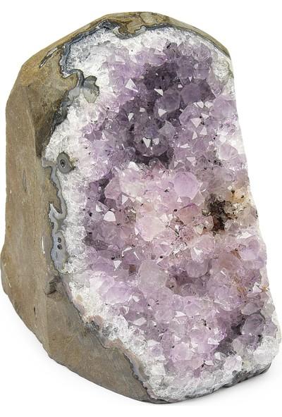 Fikir Harika Ametist Taşı Mineral, Ham Taş FH10141