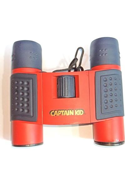 Captaın Kıd 8X21 Captain Kid Dürbün Av Dürbünü 96M/1000M Kırmızı Kasa