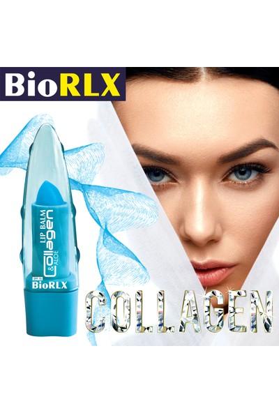 Biorlx Aloe Vera + Collagen + Spf 15(Güneş Koruyucu) Lip Balm Color Free (Renksiz) + Paraben Free (Parabensiz)Unisex 2 Adet