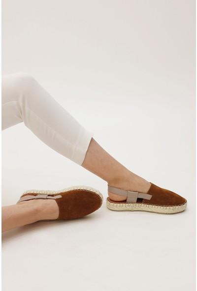 Marjin Kadın Salta Düz Sandalet