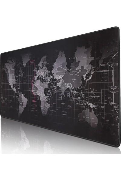 Dalong Dünya Haritalı Mouse Pad - 90 x 40cm