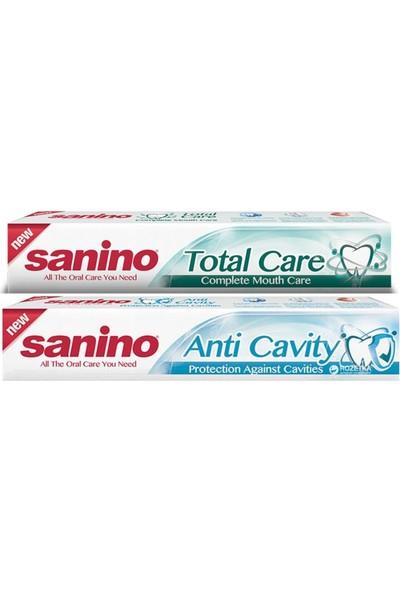 Sanino Çürük Karşıtı ve Komple Bakım Diş Macunu 100 ml x 2 Adet