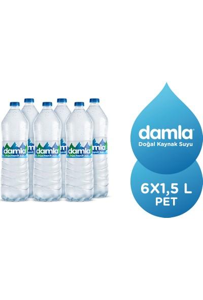 Damla Su Pet 1,5 Lt x 6'lı