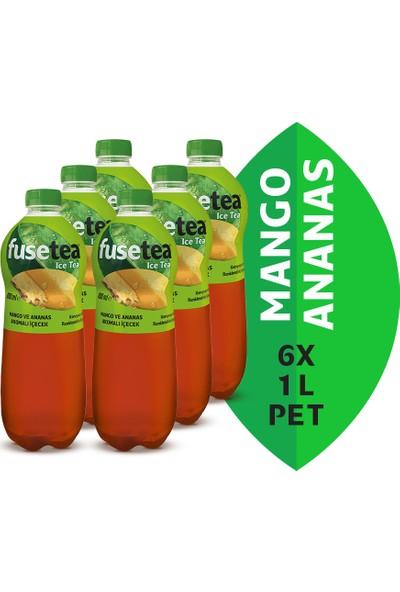 Fuse Tea Mango Ananas Pet 1 Lt 6'lı Paket