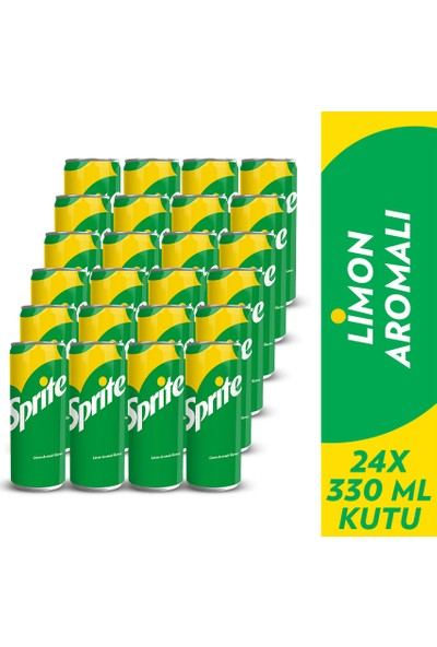 Sprite 330 ml, 24'lü Paket