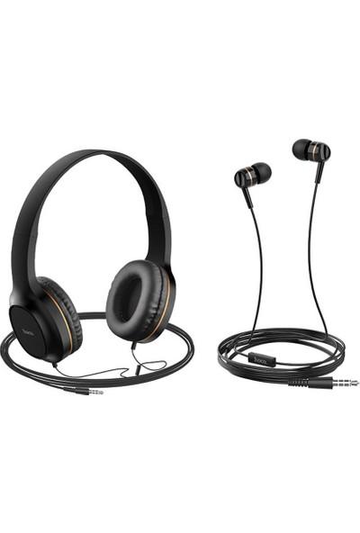 Hoco W24 3.5mm Kablolu Oyuncu Kulaklığı Kulaküstü Derin Bass (Yurt Dışından)