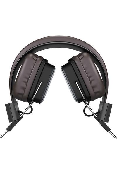 Hoco W20 Gleeful Kablosuz V4.2 Mikrofonlu Kulaklık 200mAh (Yurt Dışından)