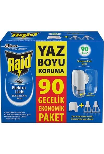 Raid Elektro Likit Ekonomik Paket 90 Gece 54.8 ml
