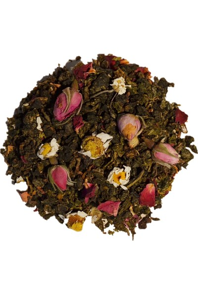 Te Cha Tea Rose Oolong 50 Gr Gül Ve Papatyalı Oolong Çayı