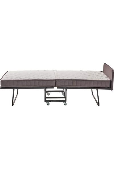 Yataş Bedding Flexbed Katlanabilir Dht Yaylı Seri Yatak (Tek Kişilik - 90X200 Cm)