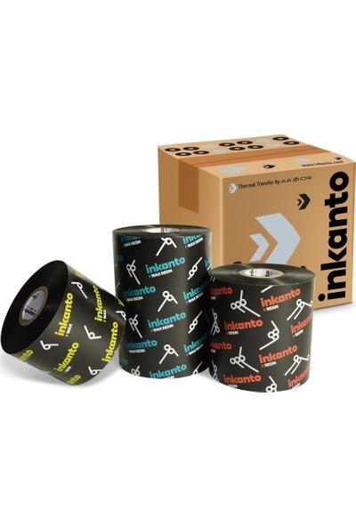 Inkanto Wax-Resin Ribon Siyah 90mm x 300m (Out)
