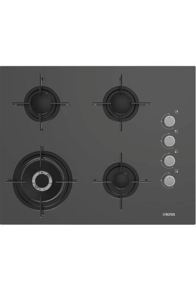 Altus Zara Grey Üçlü Ankastre Set (Fırın Ala 137 G - Ocak Ala 185 Ggd - Davlumbaz Ala 540 G)