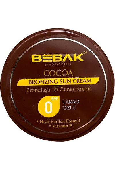 Bebak Güneş Kremi Kakao Özlü Kavanoz 100 ml